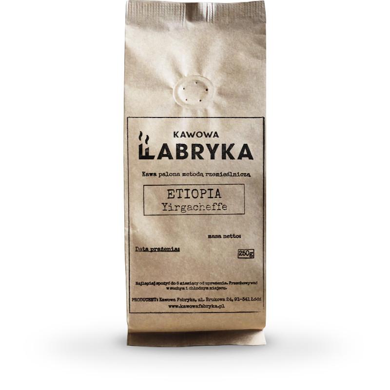 Etiopia Yirgacheffe - kawa świeżo palona